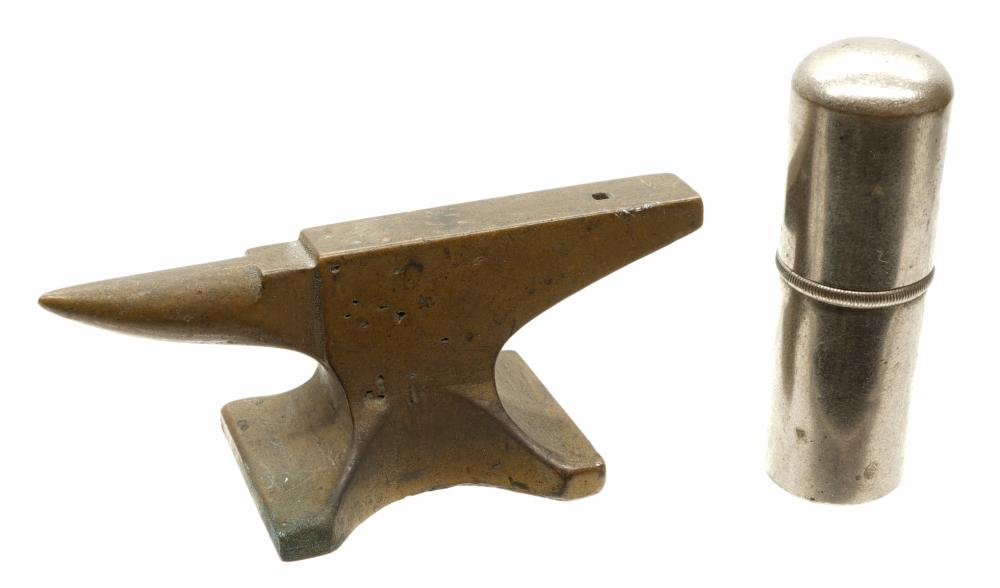 Lot 168: Jewelers Anvil and more