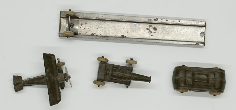 Army Lead Tank, Canon and Airplane