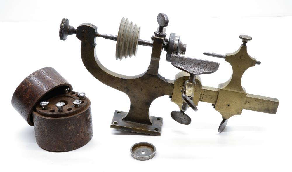 Watchmakers or Jewelers Lathe and accessories