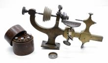 Lot 169: Watchmakers or Jewelers Lathe and accessories