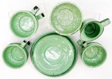 Lot 176: Graniteware Doll Dishes (20)