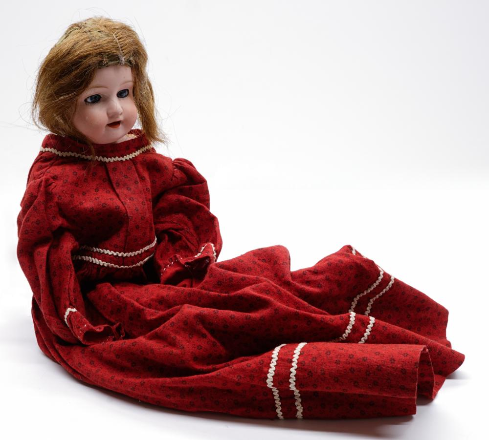 Lot 173: Morimura Brothers Bisque Head Doll