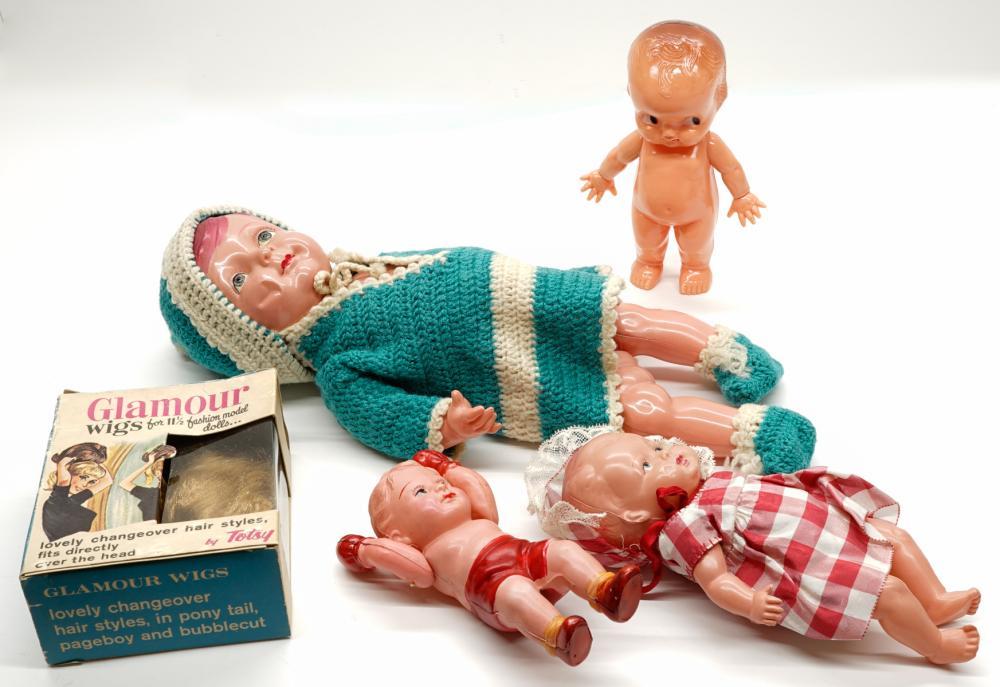 Vintage Plastic Dolls (4)
