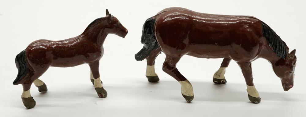 Lot 177: Lead Horses and Cows (10)