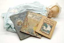 Lot 181: Effanbee Lambkins Composition Doll and Books