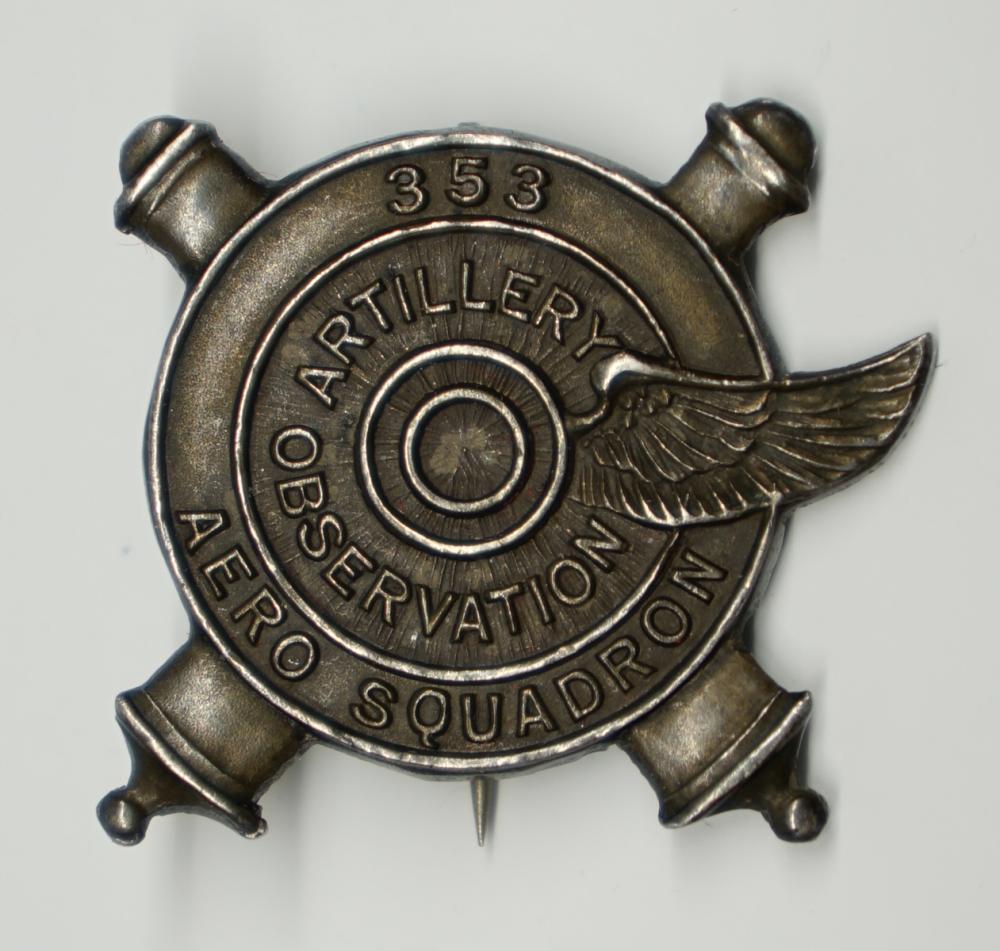 Lot 182C: 353rd Aero Squadron Pin