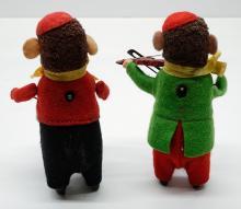 Lot 190: Schuco Monkey Musicians Windup Toys (2)