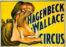 Lot 200A: Hagenbeck-Wallace Circus Poster