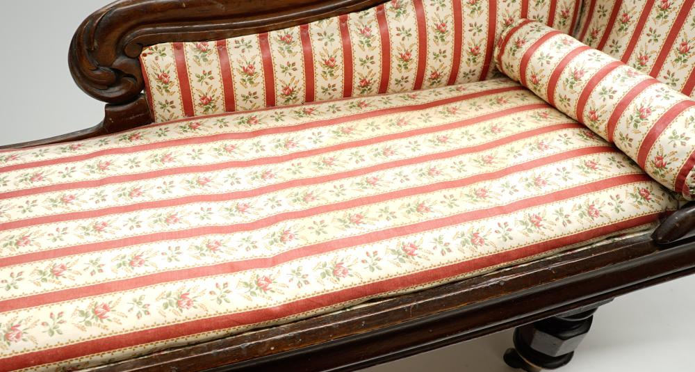 Lot 197: Mid 19th Century Empire Doll Daybed