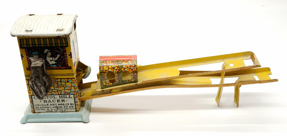 Lot 209: Capitol Hill Racer Tin Windup with Box