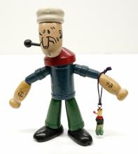 Lot 205: A Wood Jointed Popeye