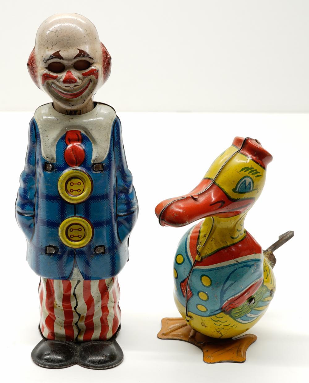 Lot 204: Germany U.S. Zone Uncle Sam Clown