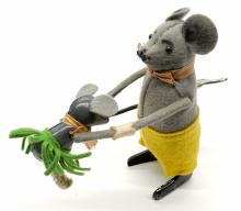 Lot 207: Schuco Dancing Mouse with Ballerina