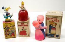 Lot 213: Three Small Vintage Toys with Original Boxes (MIB)