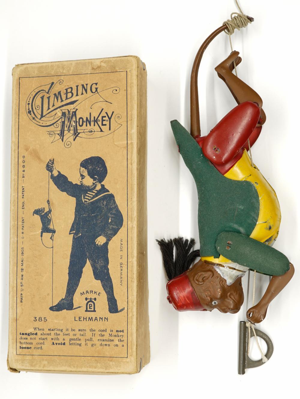 Lot 215: Lehmann Climbing Monkey with Original Box