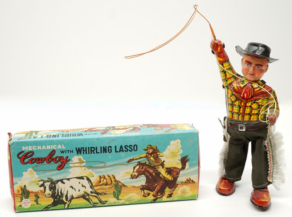 Lot 219: Two Vintage Windup Toys