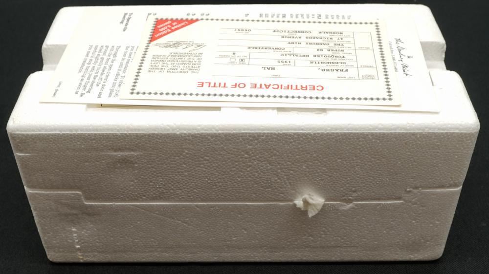 Lot 229: 1955 Oldsmobile Super 88 Limited Edition MIB
