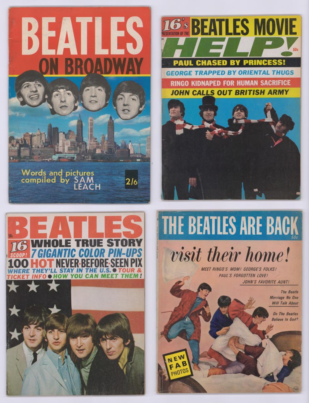 Lot 238: The Beatles Fan Magazines (8)
