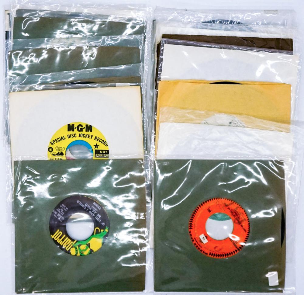 Lot 260: Vintage Rock and Pop (20) 45 RPM Records
