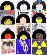 Lot 258: Punk, Post-Punk (9) 45 RPM Records