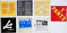 Lot 259: Punk, Post-Punk (7) 45 and 33 RPM Records