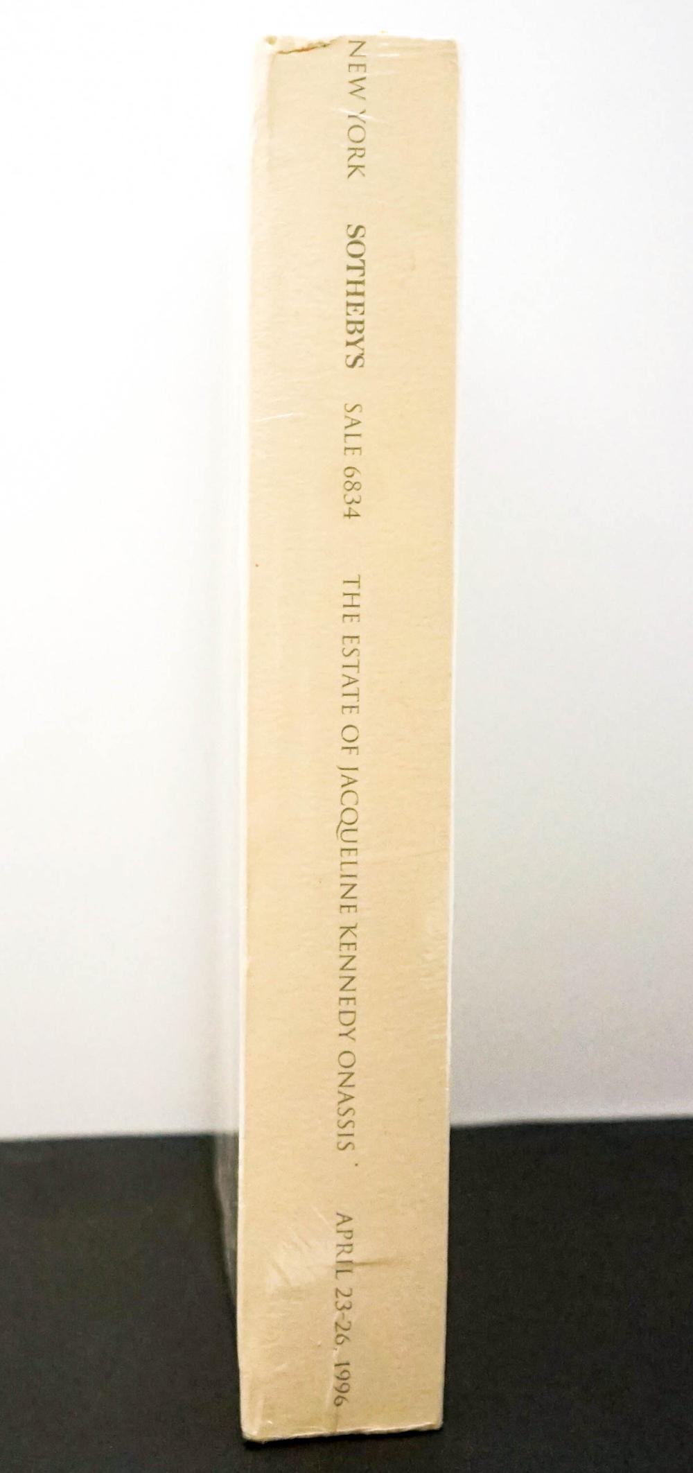 Lot 270: Jacqueline Kennedy Onassis Sotheby's Catalog