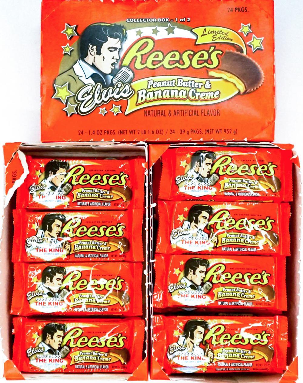 Lot 276: Elvis Presley Commemorative Reese's Cups (64)