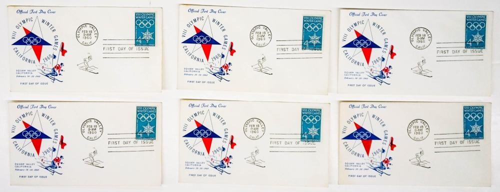 Lot 286: Vintage Olympics and Sports Comm. Covers (18)