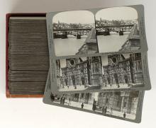 Lot 288: Antique Stereoviews [Travel Set ] (100)