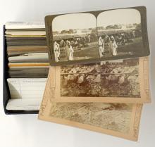 Lot 295: Antique Stereoviews [Travel Set ] (42)
