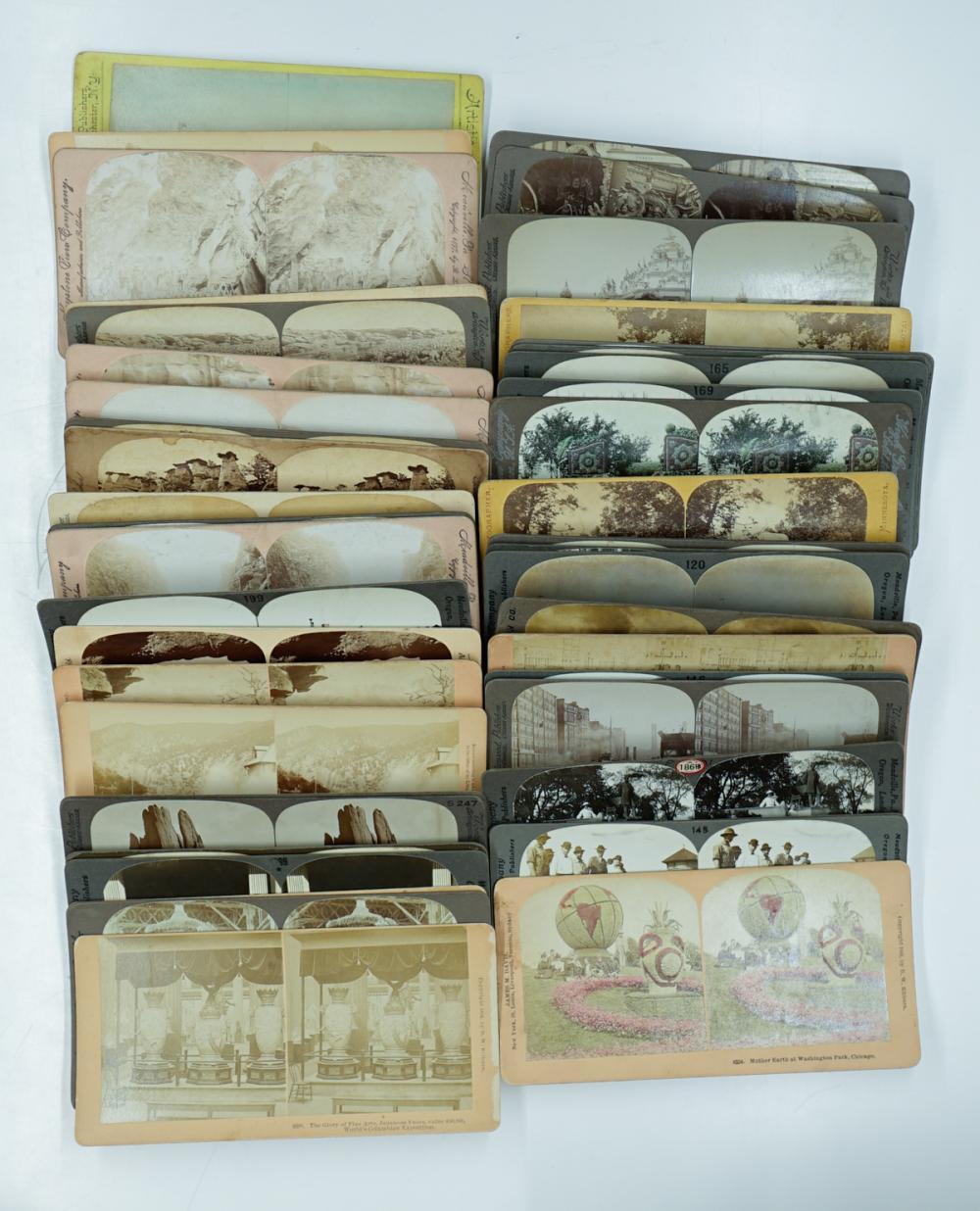 Lot 304: Antique Stereoviews [Central, Western U.S] (46)