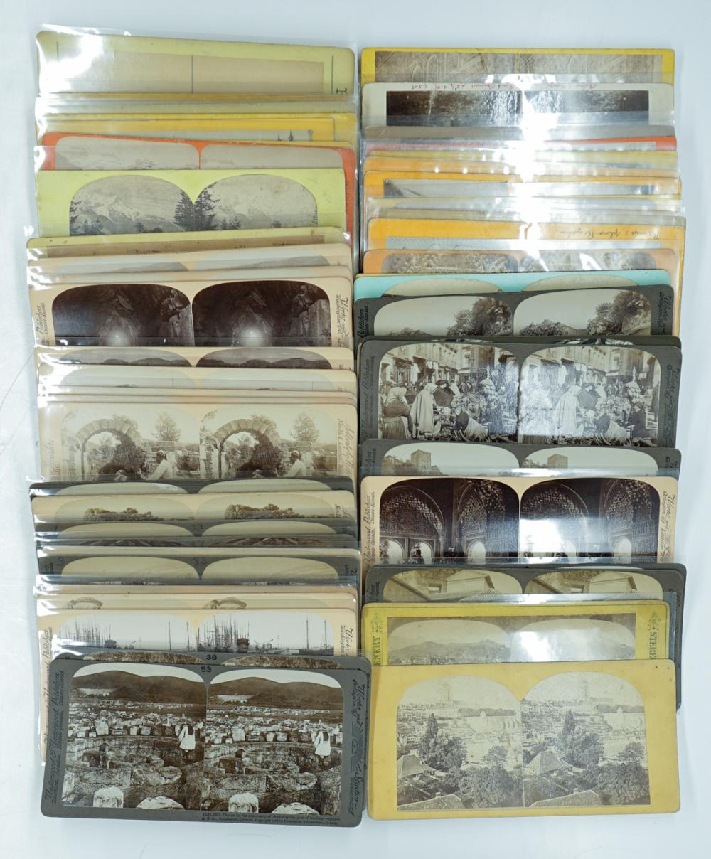 Lot 308: Antique Stereoviews [European] (58)