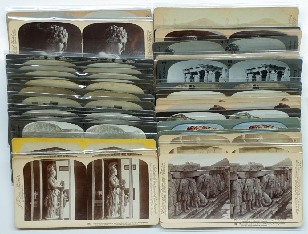 Lot 318: Antique Stereoviews [Greece] (44)