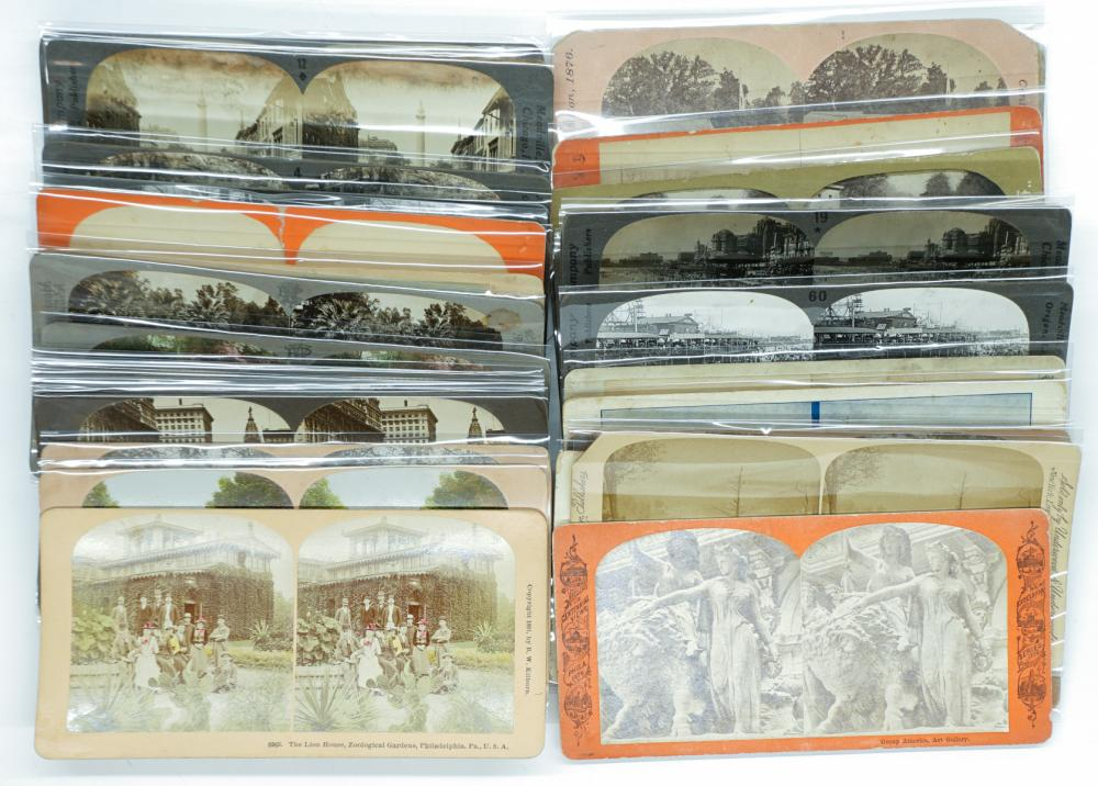 Lot 322: Antique Stereoviews [Northern States] (42)