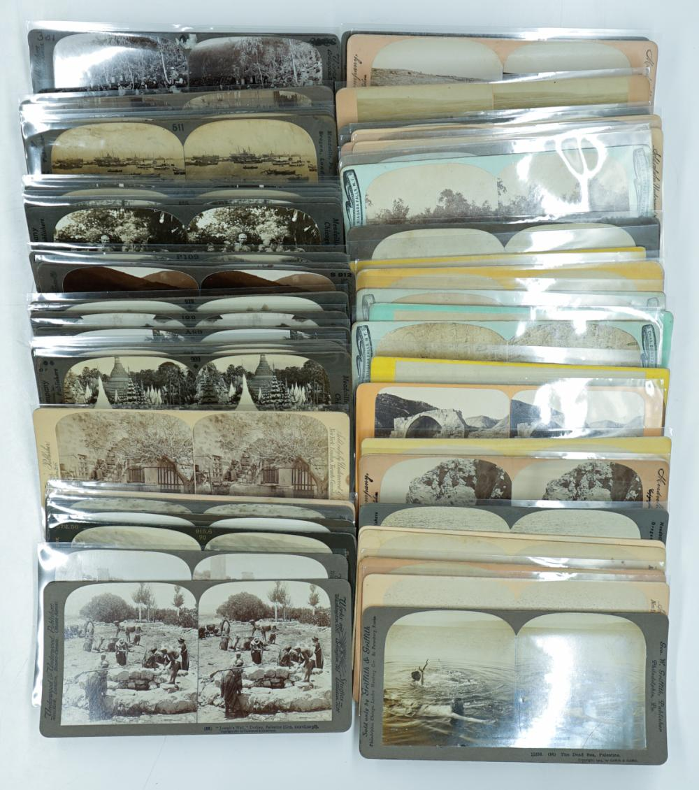 Lot 312: Antique Stereoview [Asia] (57)