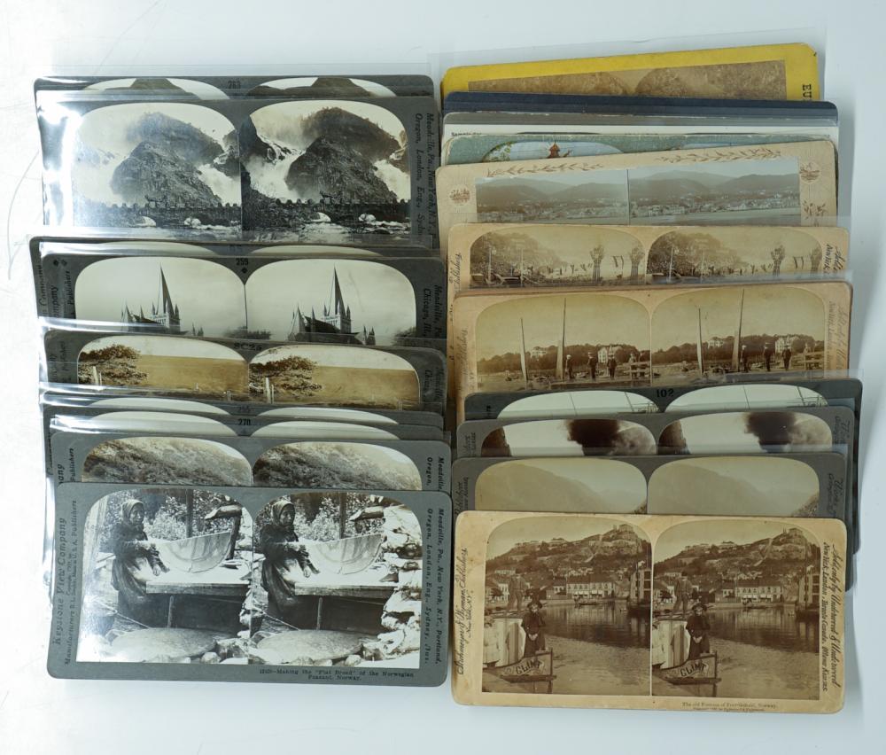 Lot 329: Antique Stereoviews [Europe] (28)
