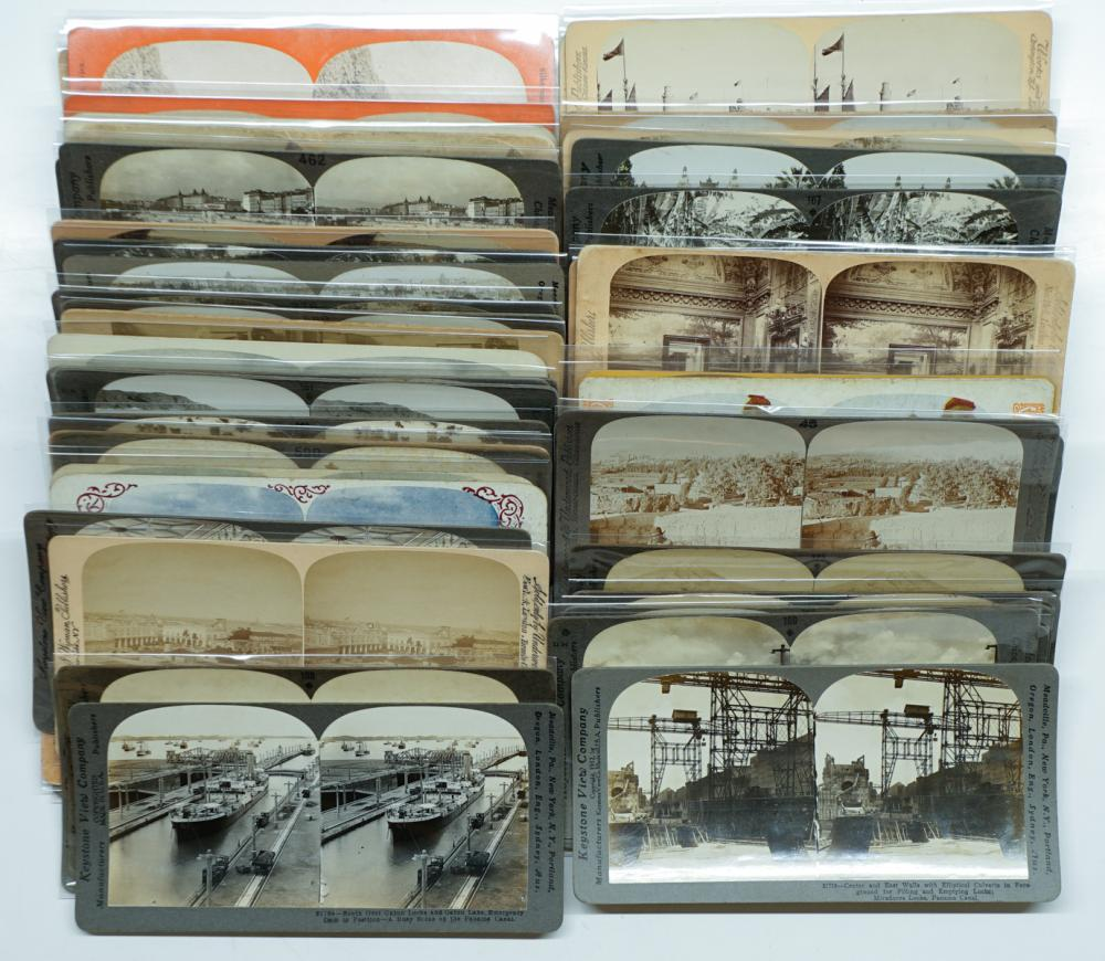 Lot 317: Antique Stereoviews [Miscellanies] (66)