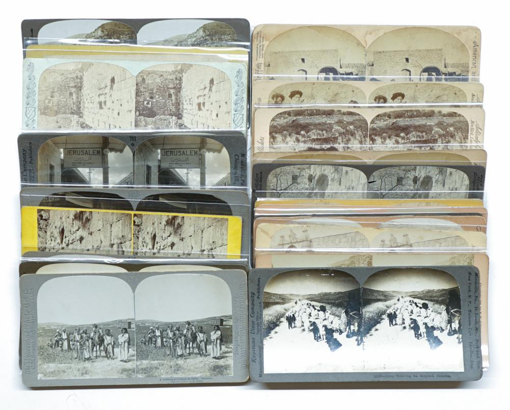 Lot 313: Antique Stereoviews [Asia] (24)