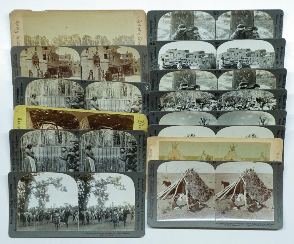 Lot 316: Antique Stereoviews [Scenery] (14)