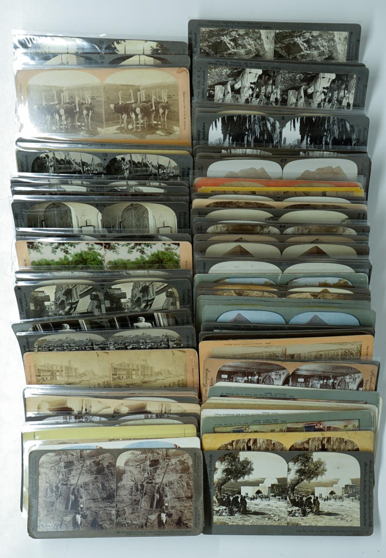 Lot 338: Antique Stereoviews [Egypt] (80)