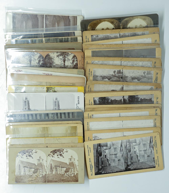 Lot 345: Antique Stereoviews [England] (38)