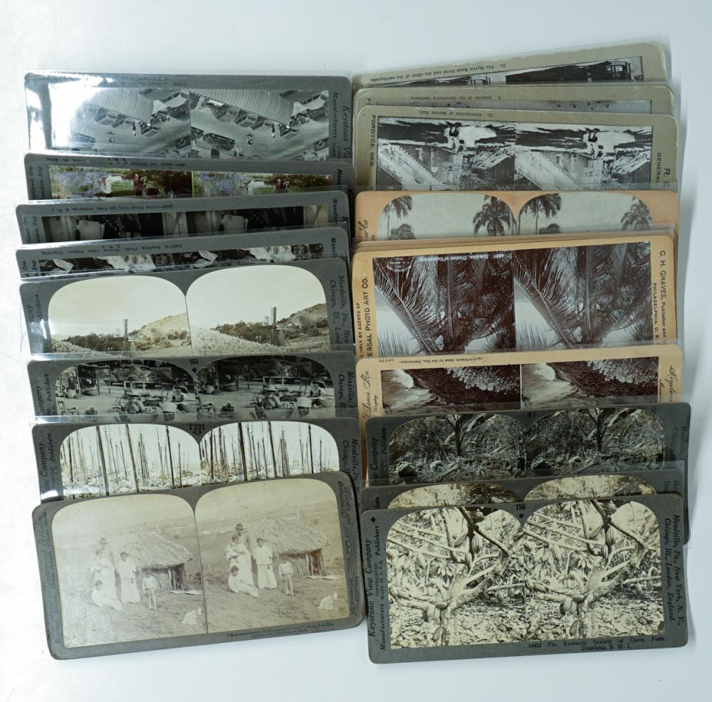 Lot 348: Antique Stereoviews [The Indies] (21)