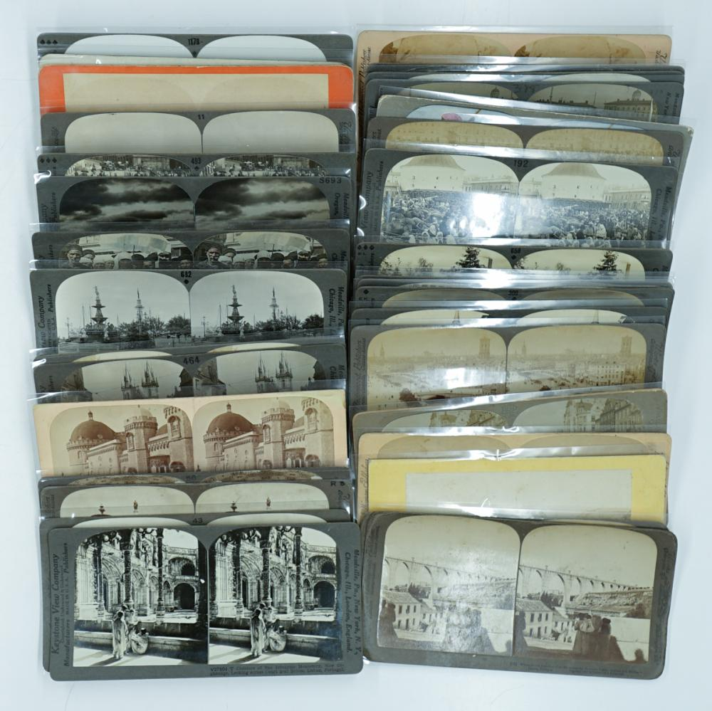 Lot 356: Antique Stereoviews [Europe] (33)