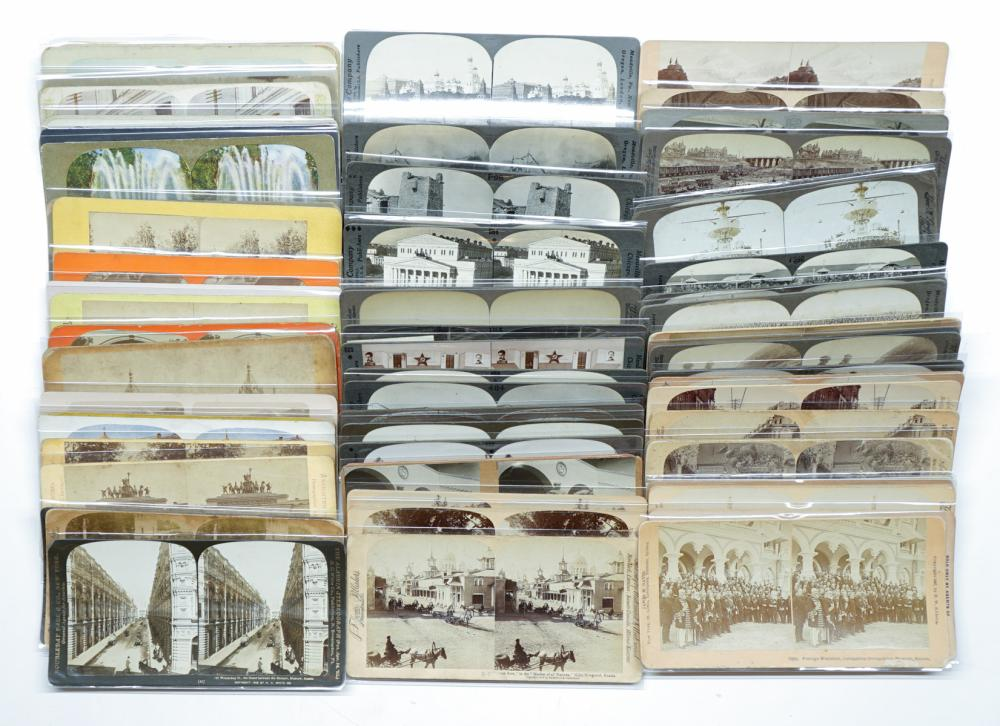 Lot 355: Antique Stereoviews [Russia} (71)