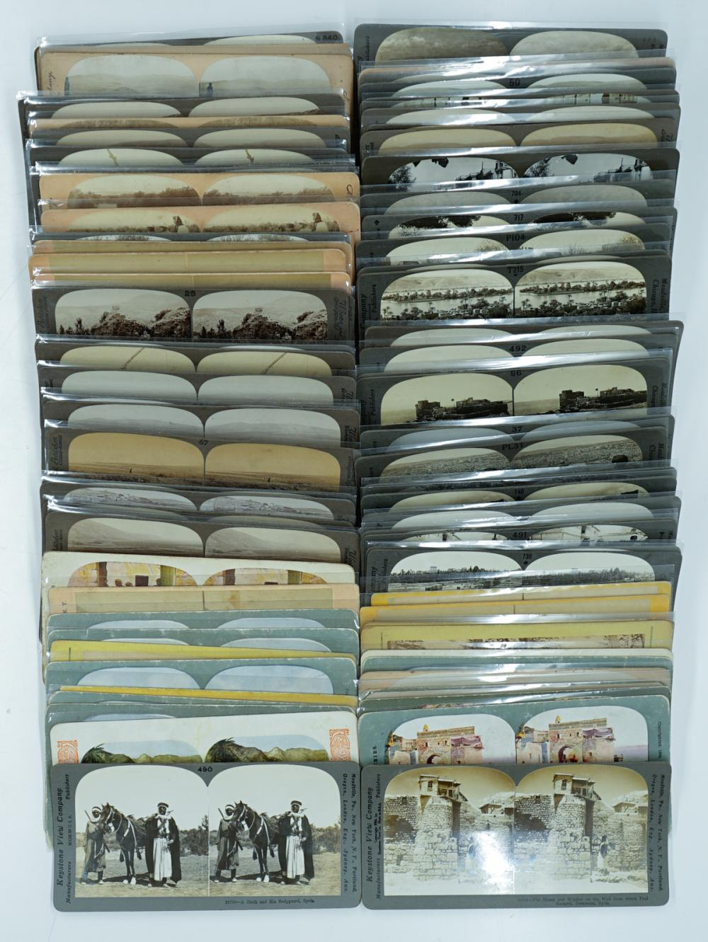 Lot 360: Antique Stereoviews [Middle East] (82)