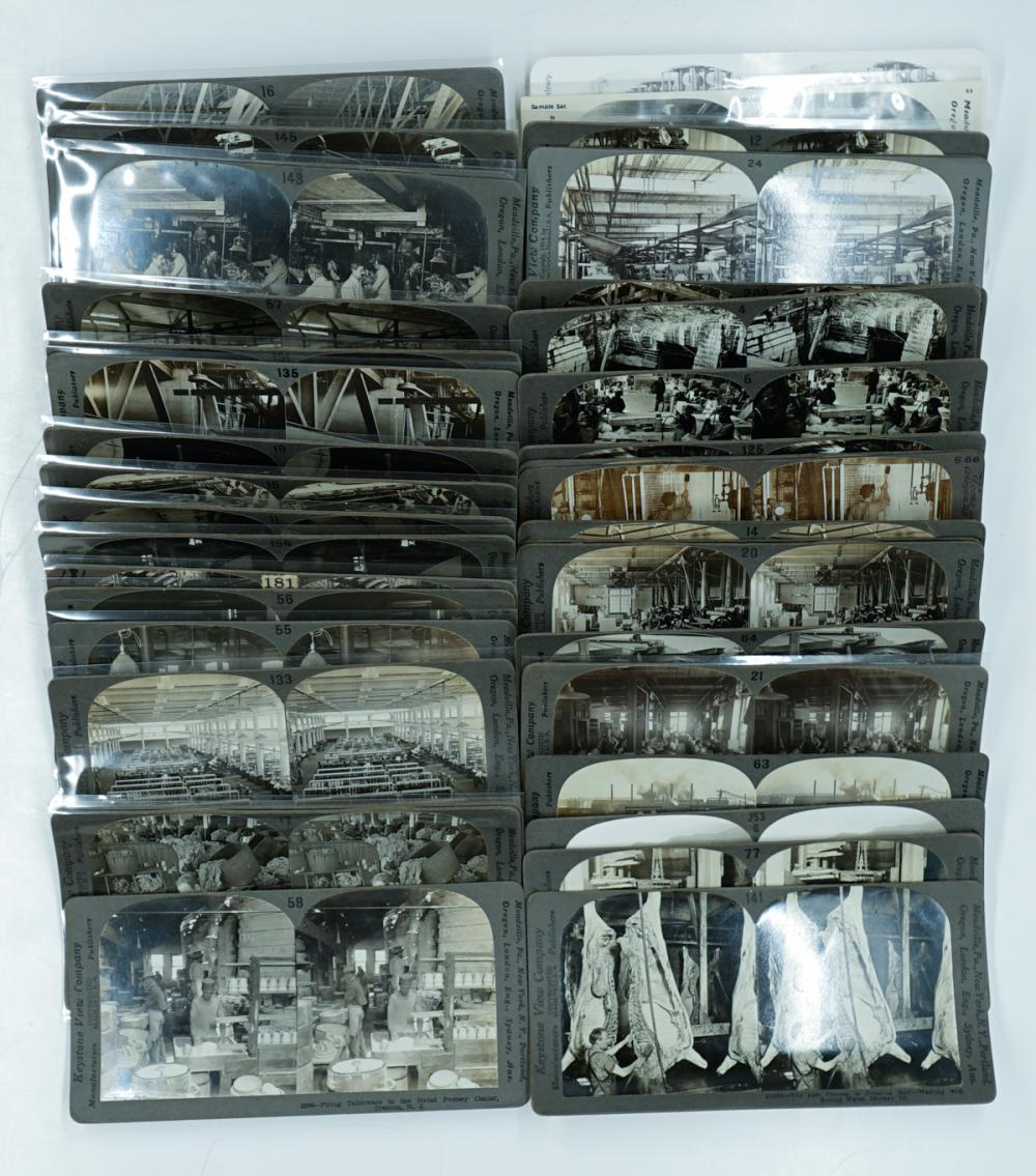 Lot 372: Antique Stereoviews [Industry] (38)