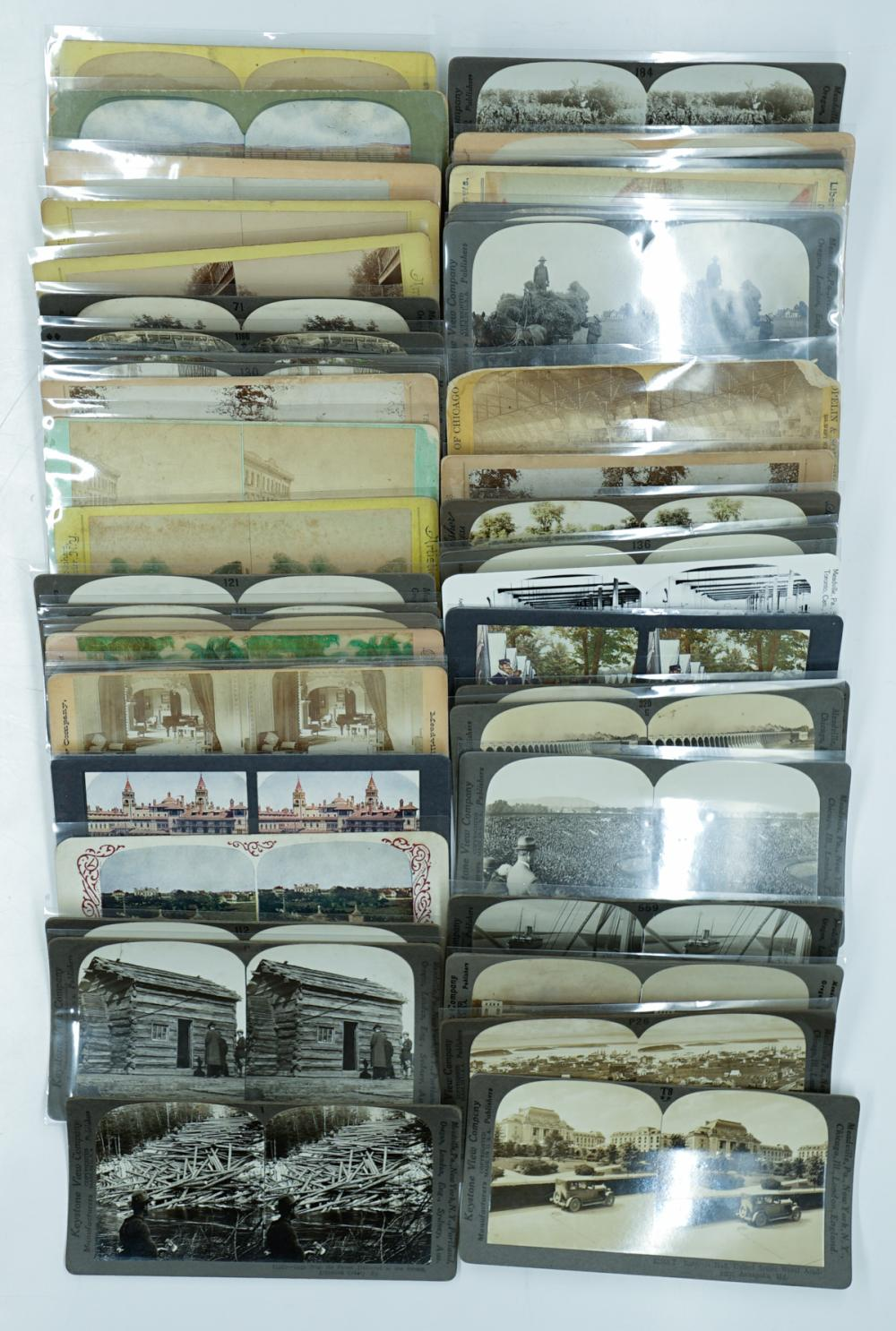 Lot 368: Antique Stereoviews [United States] (46)