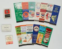 Lot 377D: Advertising Matchbooks (16) and Lighters (3)