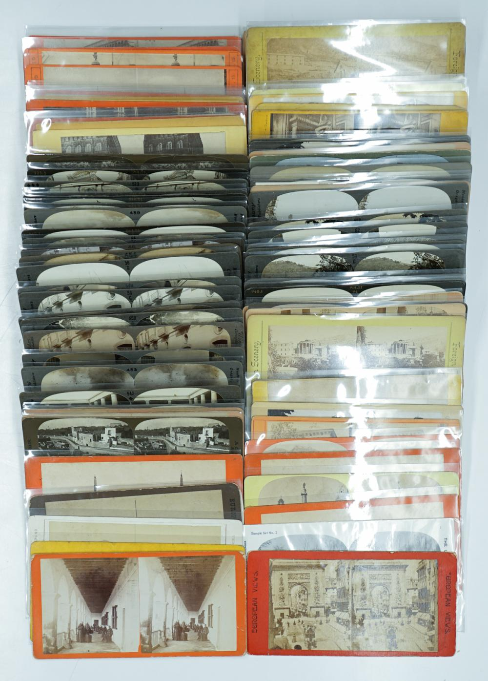 Lot 363: Antique Stereoviews [Italy] (88)