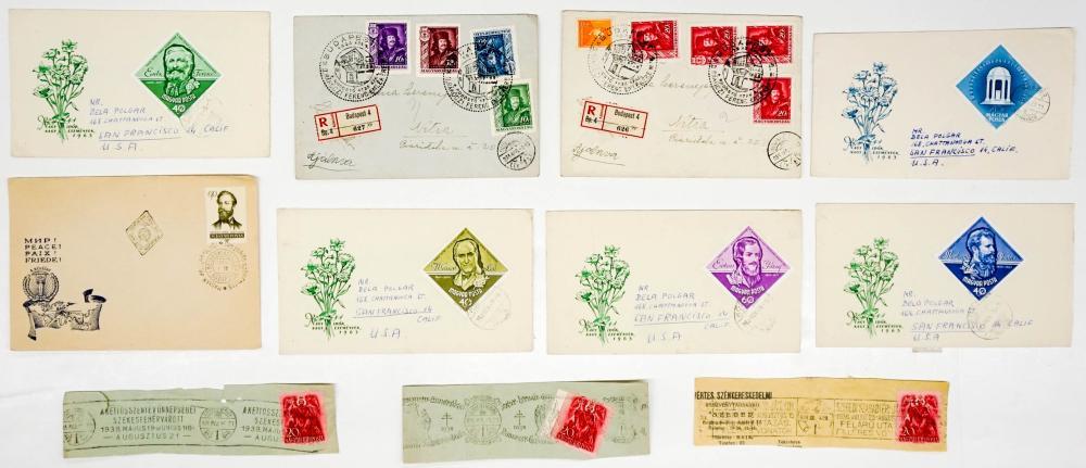 Lot 379: Hungary Postal Covers and Postcards (27)